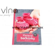 Kniha pletené papučky